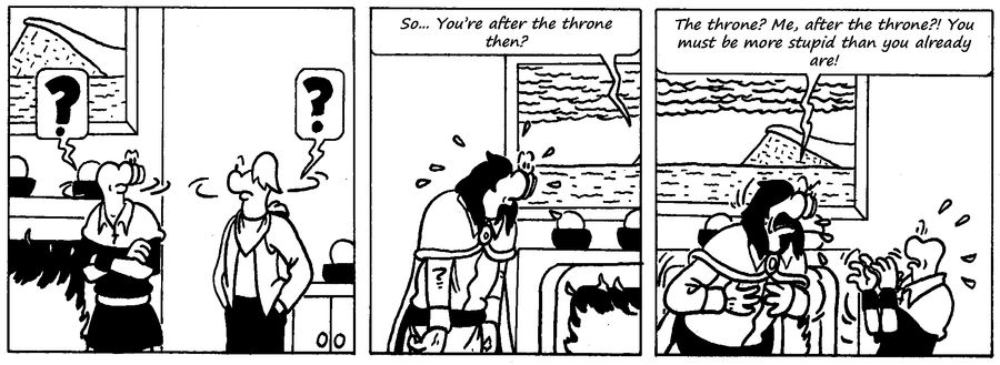 Zander Adventure Strip 65 by MDKartoons