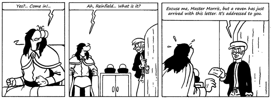 Zander Adventure Strip 68 by MDKartoons