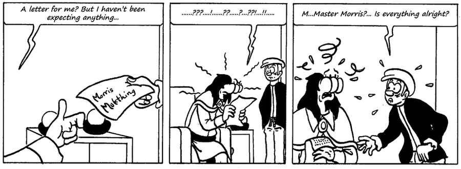 Zander Adventure Strip 69 by MDKartoons