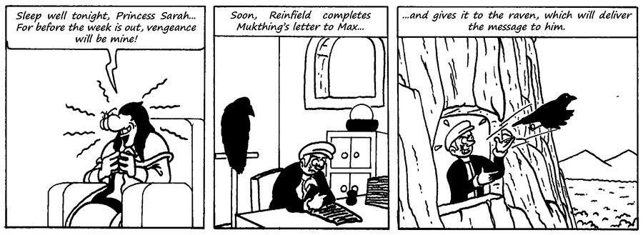 Zander Adventure Strip 73 by MDKartoons