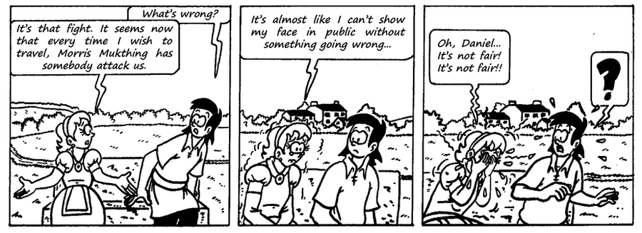 Zander Adventure Strip 80 by MDKartoons