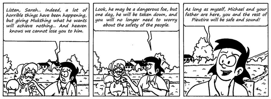 Zander Adventure Strip 83 by MDKartoons
