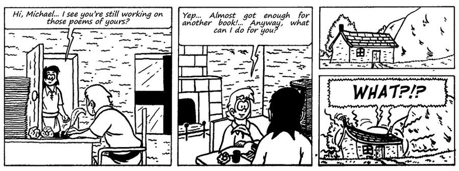 Zander Adventure Strip 88 by MDKartoons