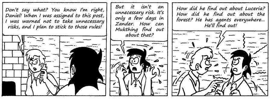 Zander Adventure Strip 91 by MDKartoons