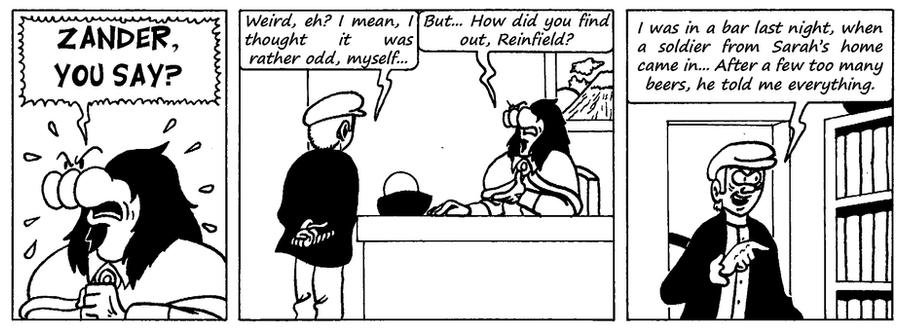 Zander Adventure Strip 95 by MDKartoons