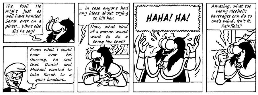 Zander Adventure Strip 96 by MDKartoons