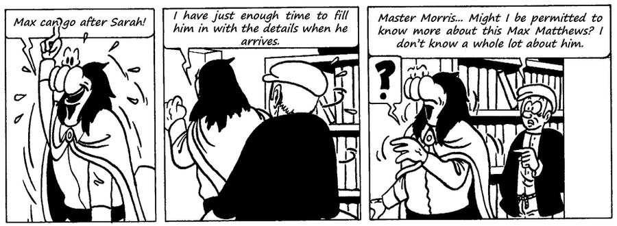 Zander Adventure Strip 98 by MDKartoons