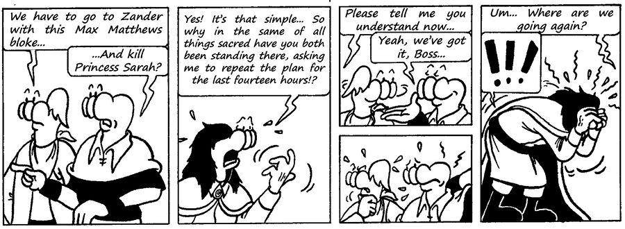 Zander Adventure Strip 101 by MDKartoons