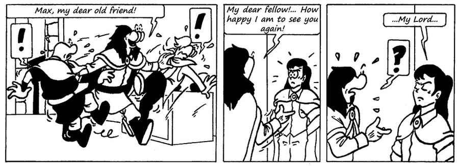 Zander Adventure Strip 103 by MDKartoons