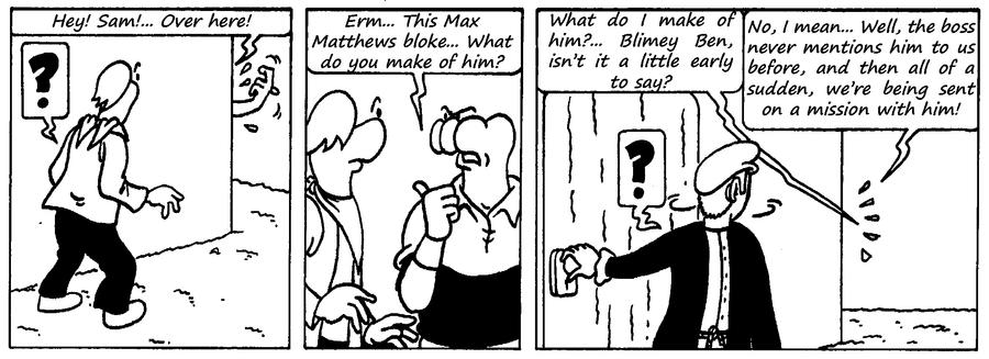 Zander Adventure Strip 105 by MDKartoons