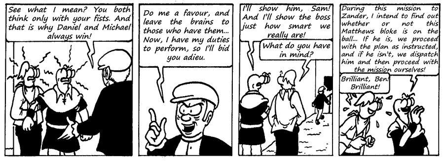 Zander Adventure Strip 109 by MDKartoons