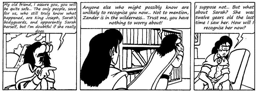 Zander Adventure Strip 112 by MDKartoons