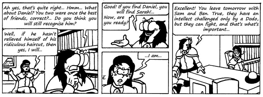 Zander Adventure Strip 113 by MDKartoons