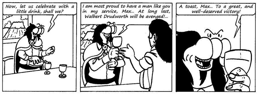 Zander Adventure Strip 114 by MDKartoons