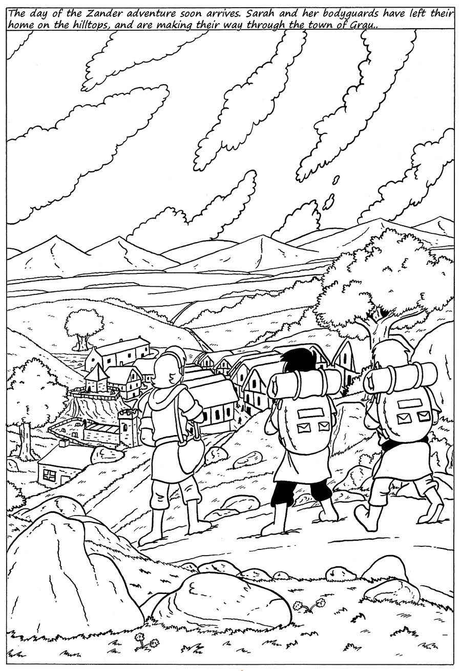 Zander Adventure Strip 115