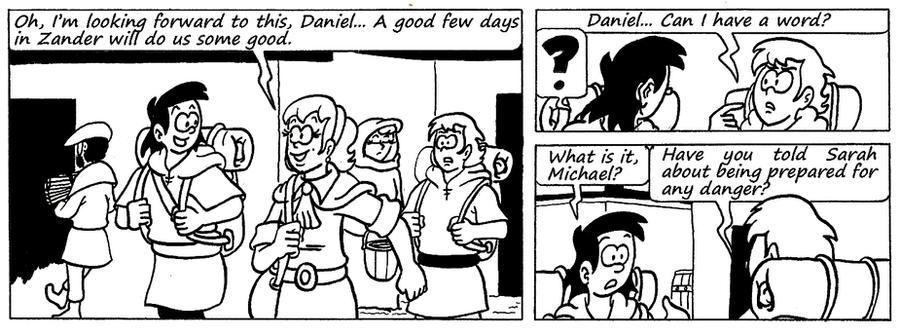 Zander Adventure Strip 116 by MDKartoons