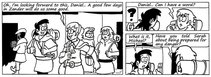 Zander Adventure Strip 116 by MDKartoons