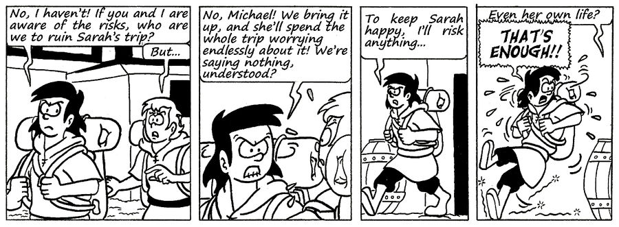 Zander Adventure Strip 117