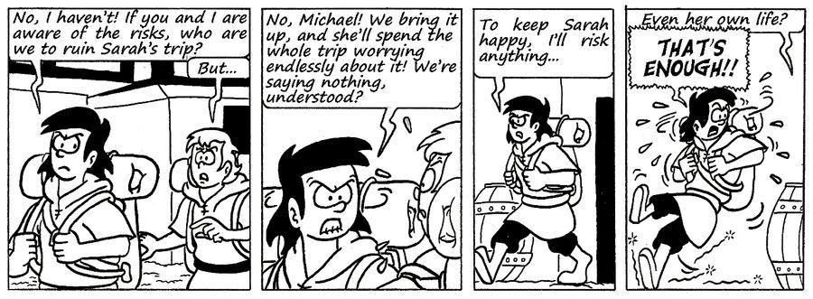 Zander Adventure Strip 117 by MDKartoons