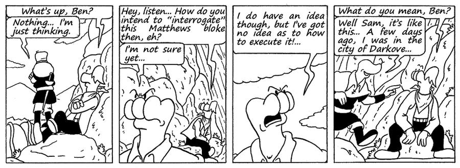 Zander Adventure Strip 122 by MDKartoons