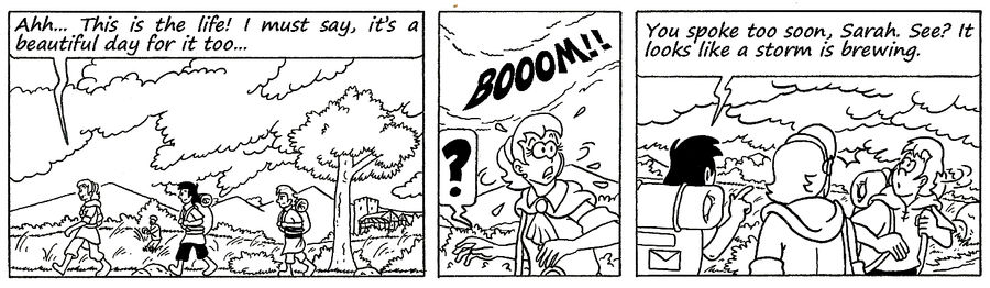 Zander Adventure Strip 124