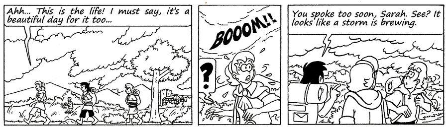 Zander Adventure Strip 124 by MDKartoons