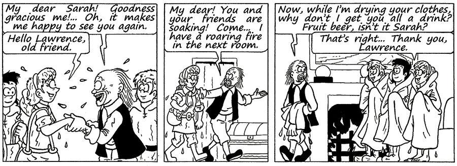Zander Adventure Strip 129 by MDKartoons