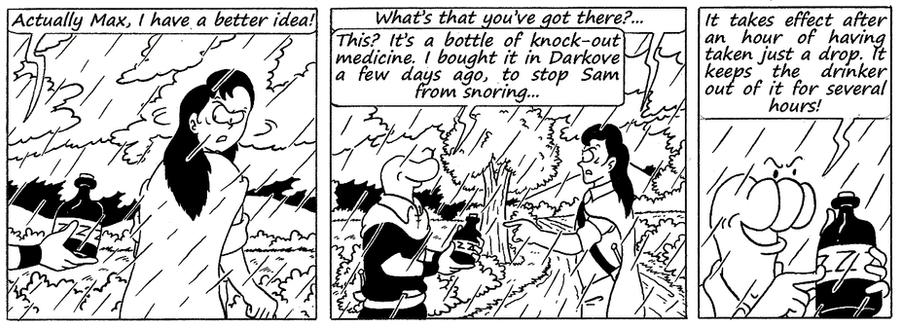 Zander Adventure Strip 133 by MDKartoons