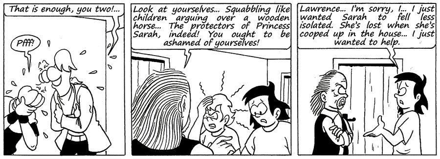 Zander Adventure Strip 142 by MDKartoons
