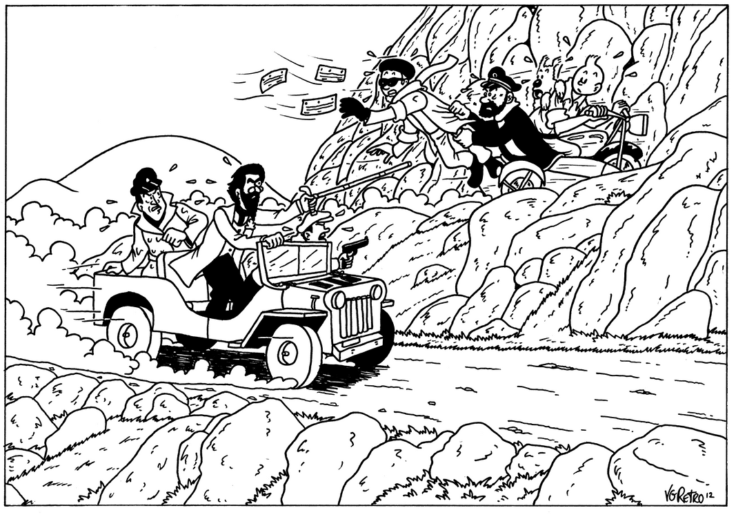 Hamr tintin original by mdkartoons on deviantart - Coloriage de tintin ...
