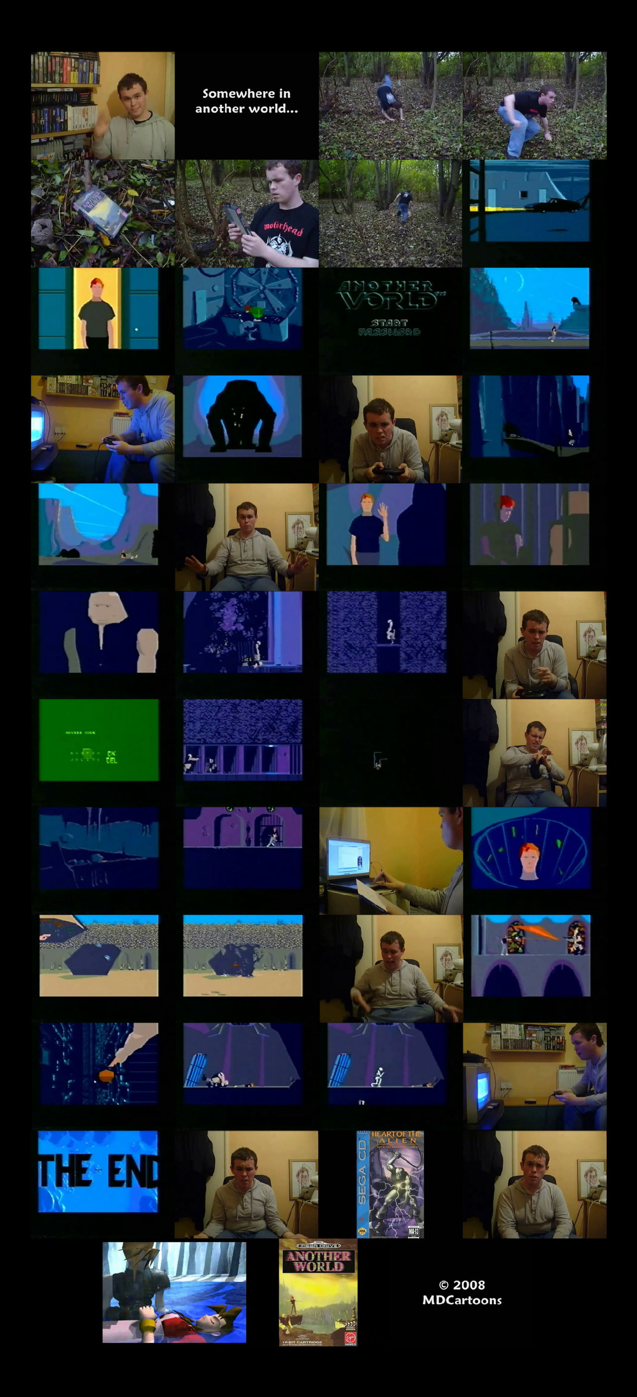 VGRetro - 06 - Another World Tele-Snaps