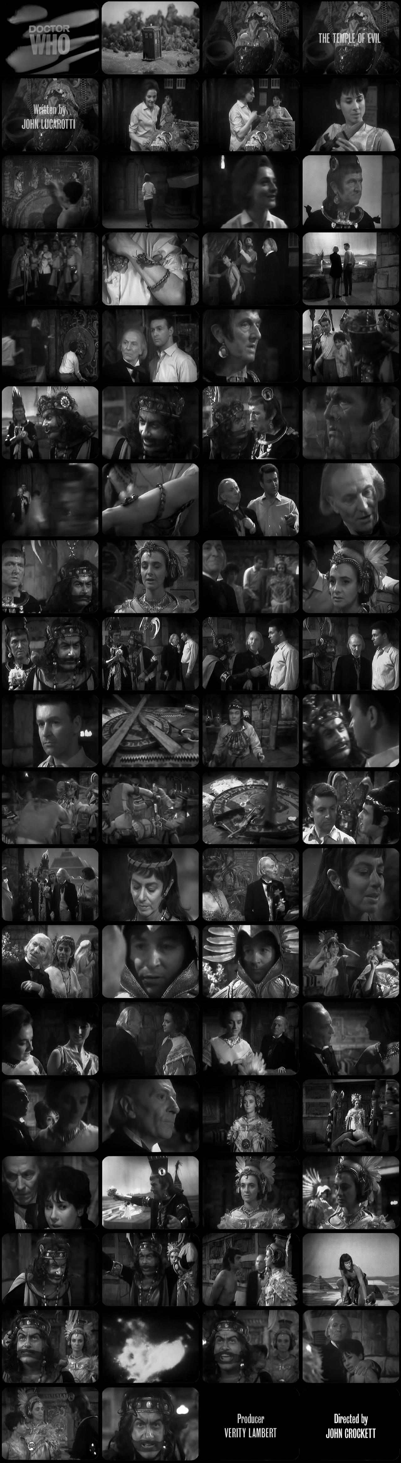 The Aztecs Episode 1 Tele-Snaps