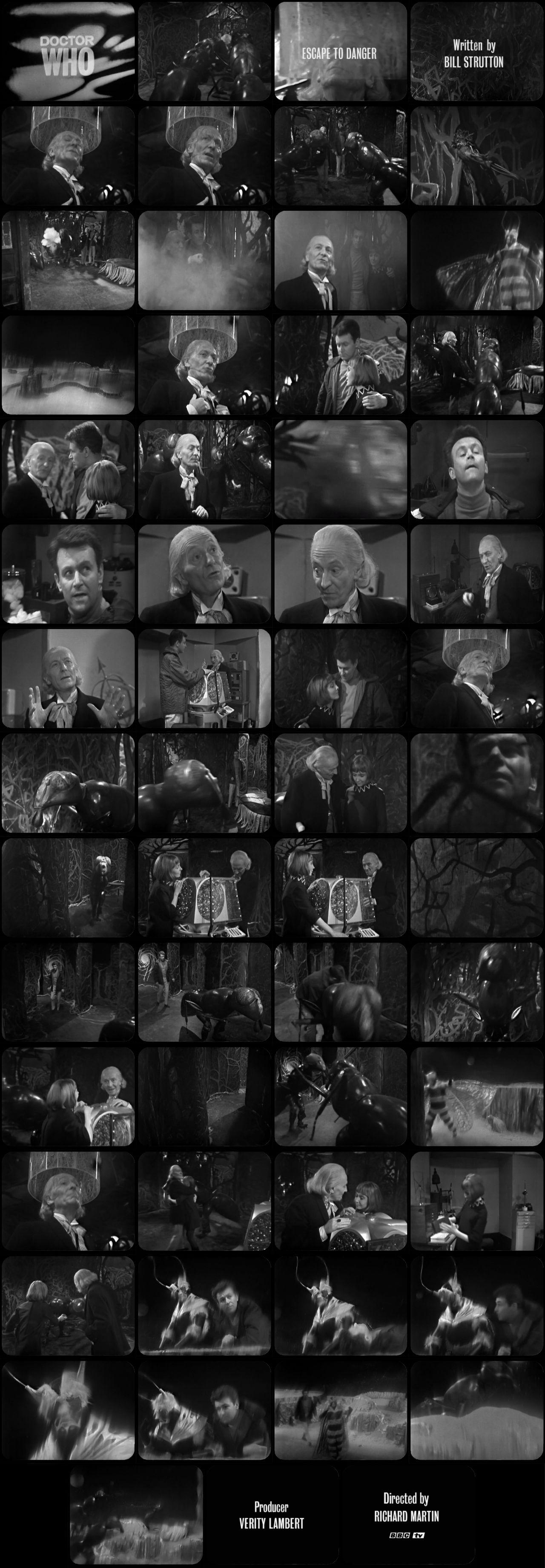 The Web Planet Episode 3 Tele-Snaps