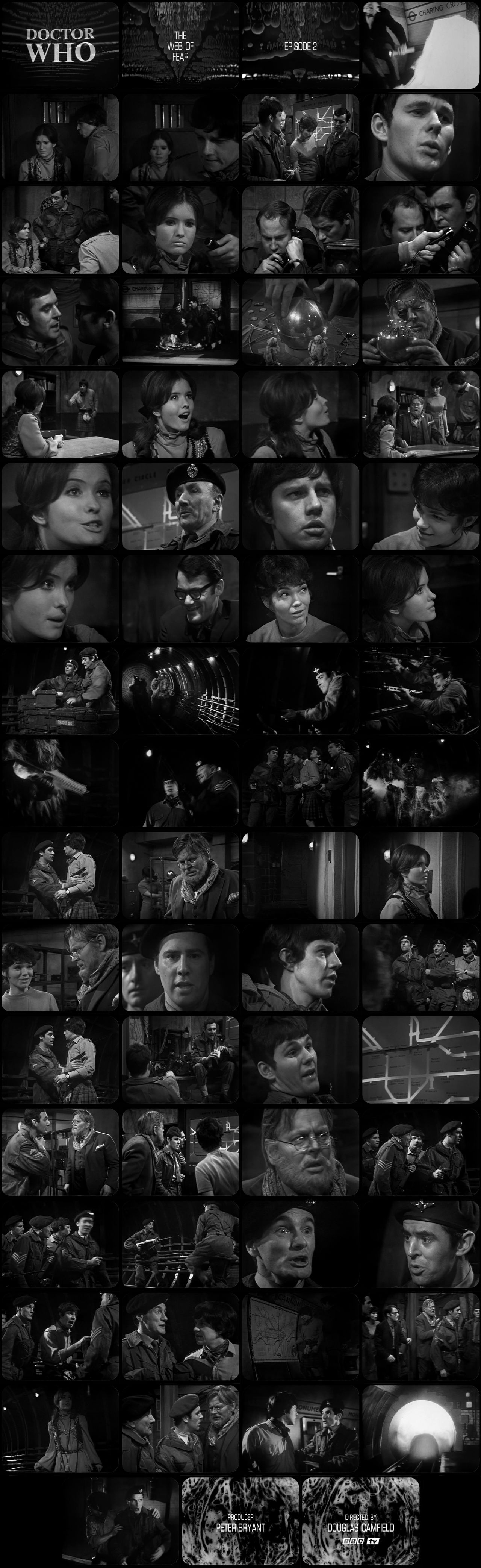 The Web of Fear Episode 2 Tele-Snaps