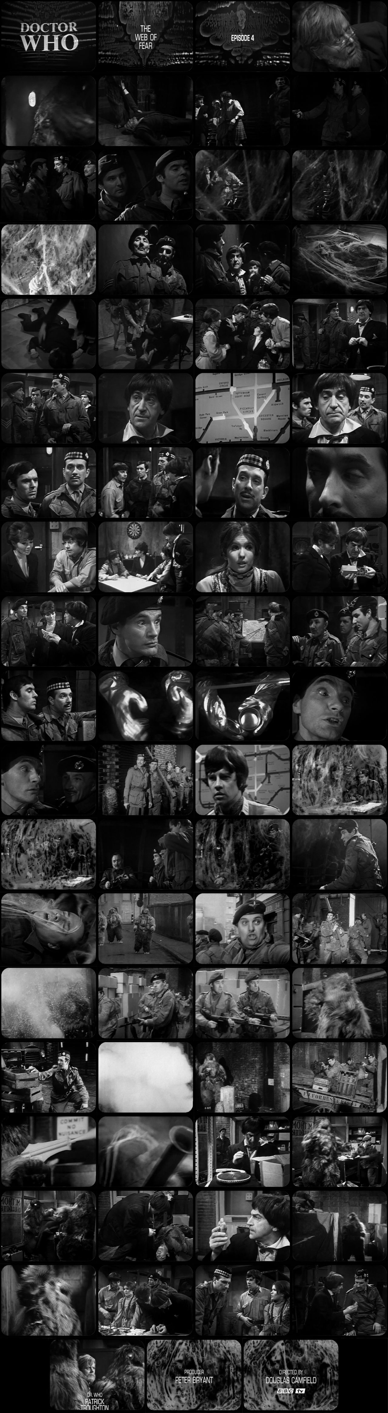 The Web of Fear Episode 4 Tele-Snaps