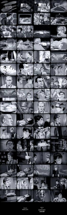 The Moonbase Episode 1 Tele-Snaps