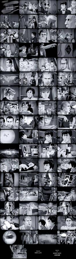 The Moonbase Episode 3 Tele-Snaps