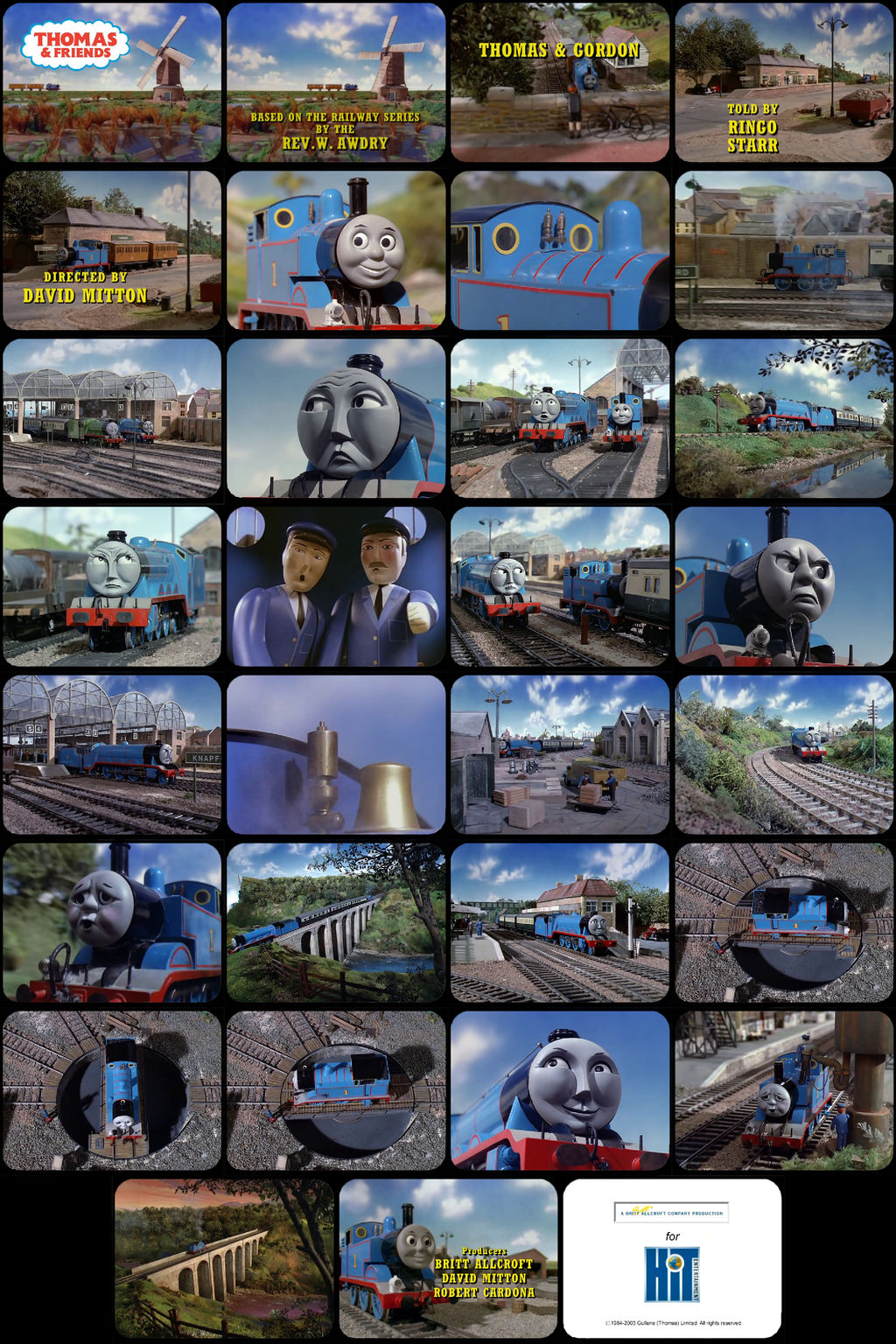 Thomas and Friends Episode 1 Tele-Snaps