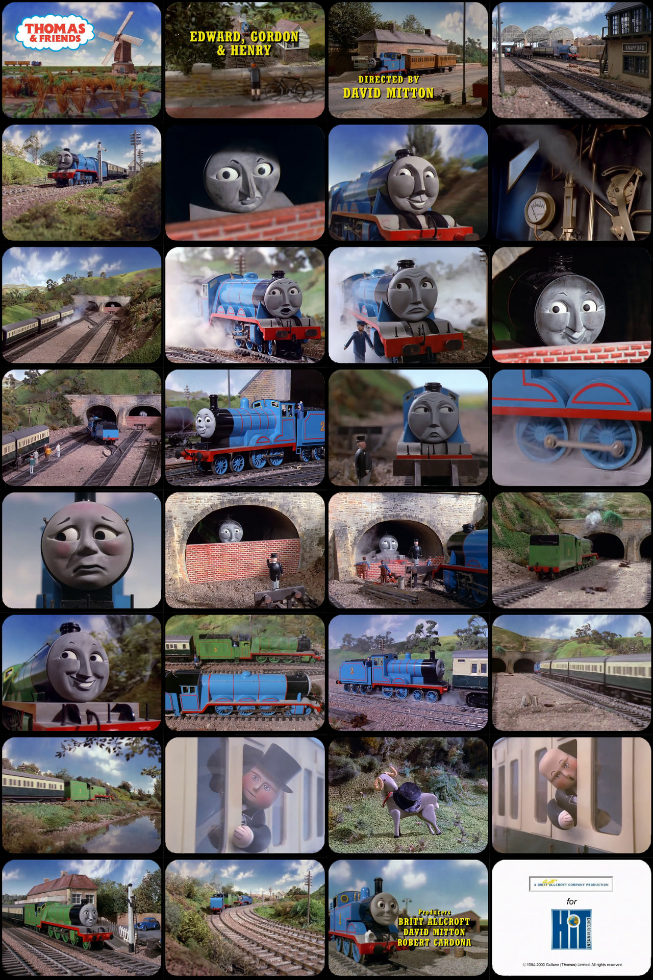 Thomas and Friends Episode 4 Tele-Snaps