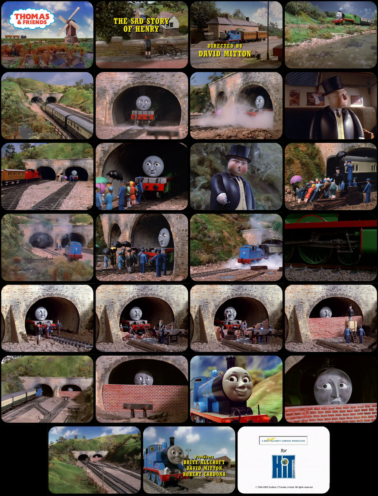 Thomas and Friends Episode 3 Tele-Snaps