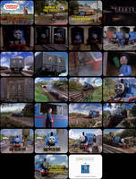 Thomas and Friends Episode 6 Tele-Snaps by MDKartoons