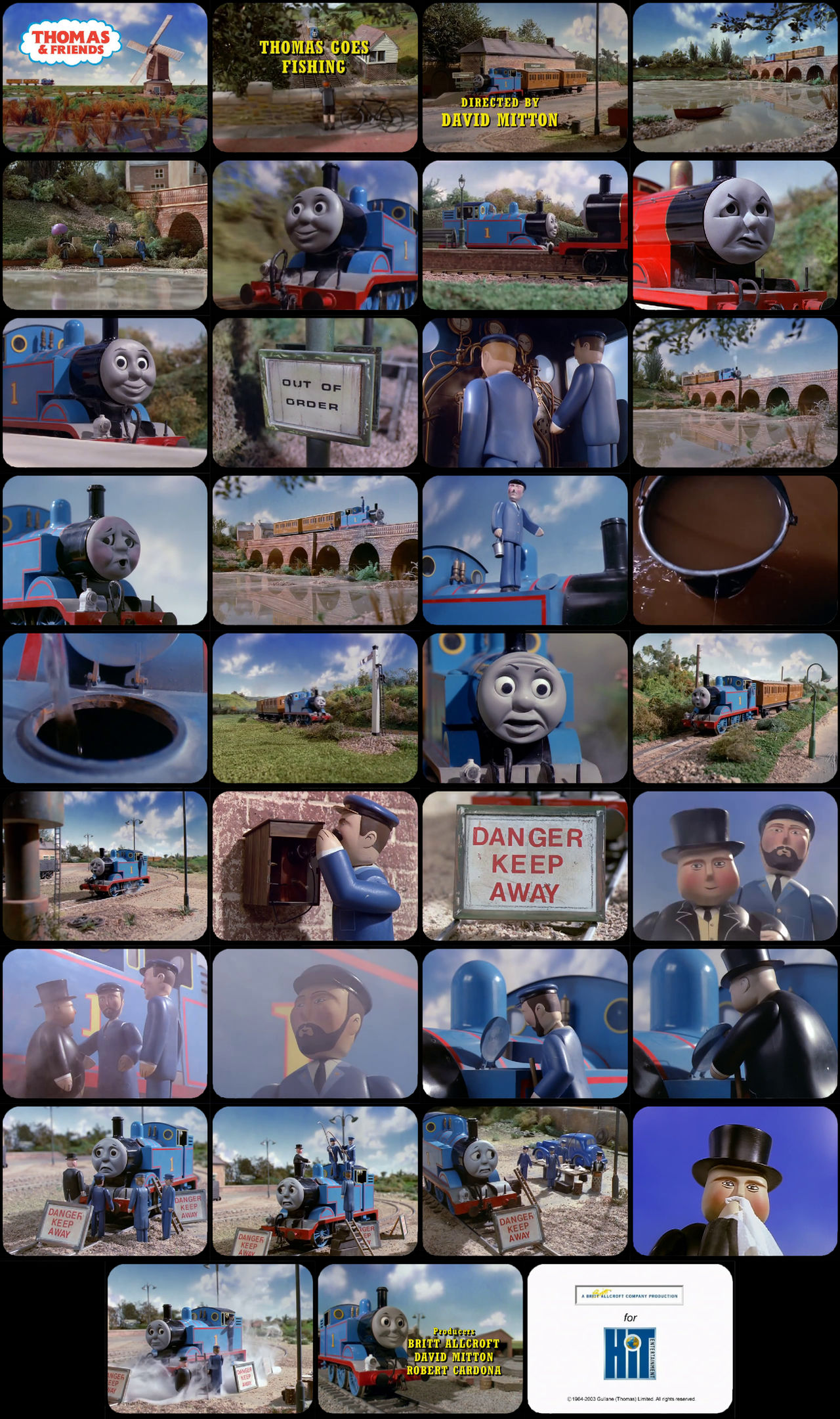 Thomas and Friends Episode 12 Tele-Snaps