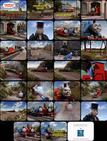 Thomas and Friends Episode 9 Tele-Snaps by MDKartoons