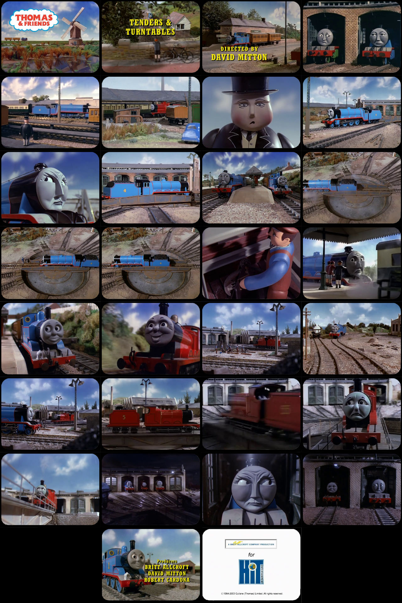 Thomas and Friends Episode 15 Tele-Snaps