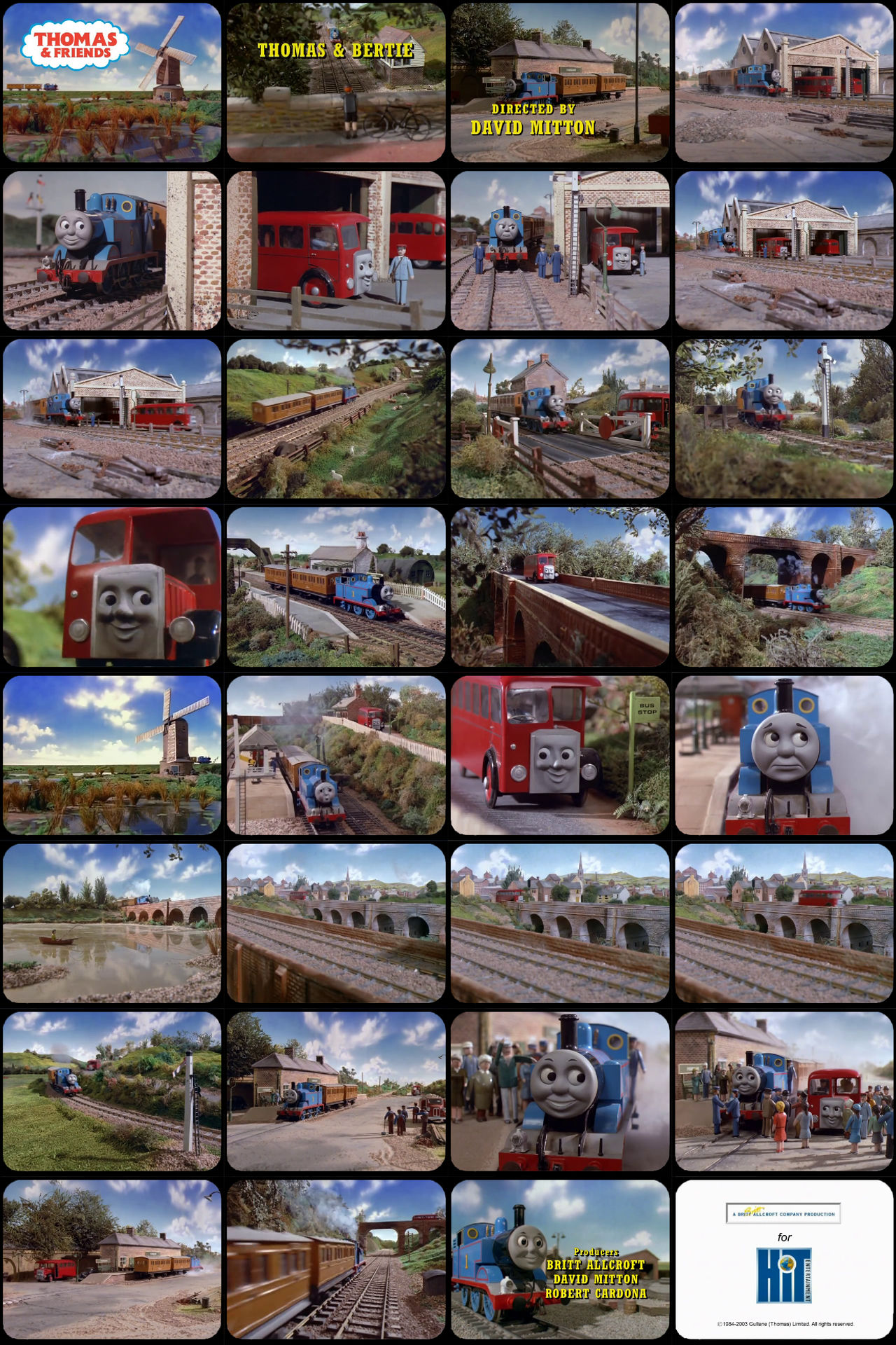Thomas and Friends Episode 14 Tele-Snaps