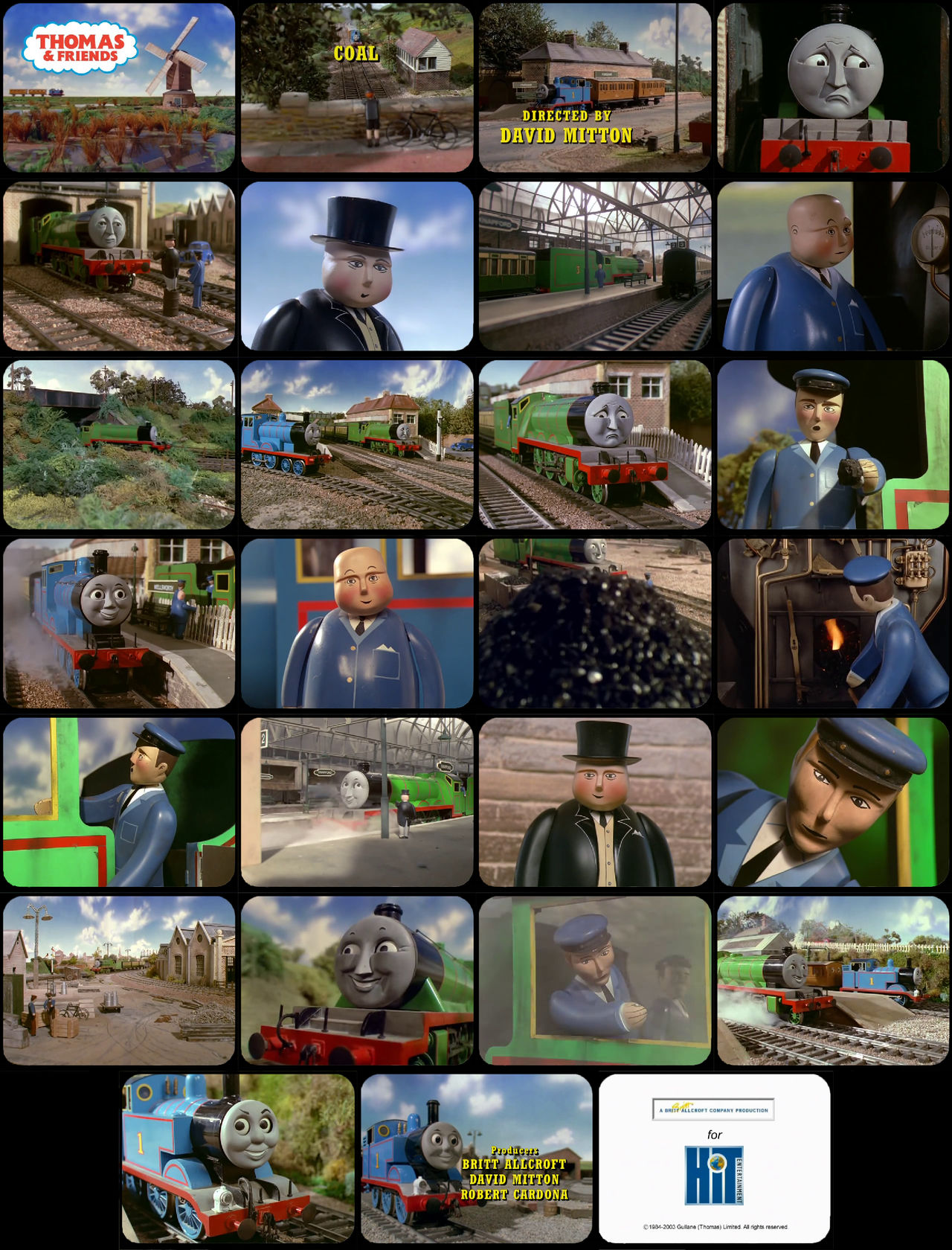 Thomas and Friends Episode 18 Tele-Snaps