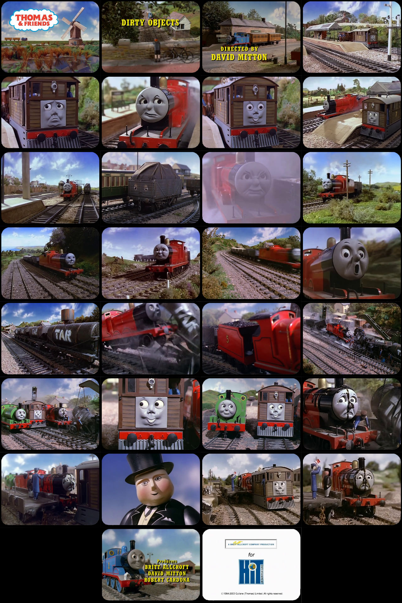 Thomas and Friends Episode 23 Tele-Snaps