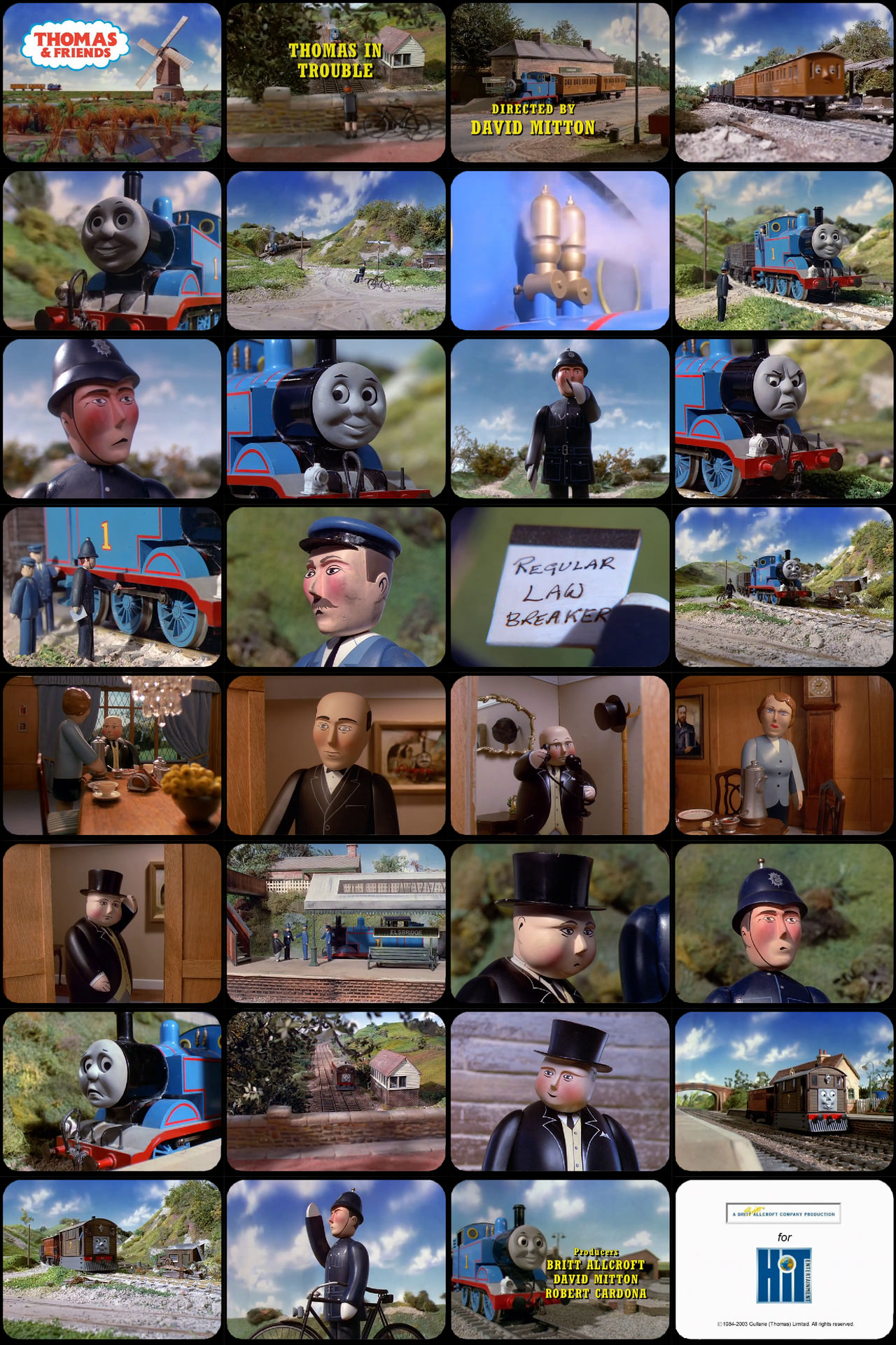 Thomas and Friends Episode 22 Tele-Snaps