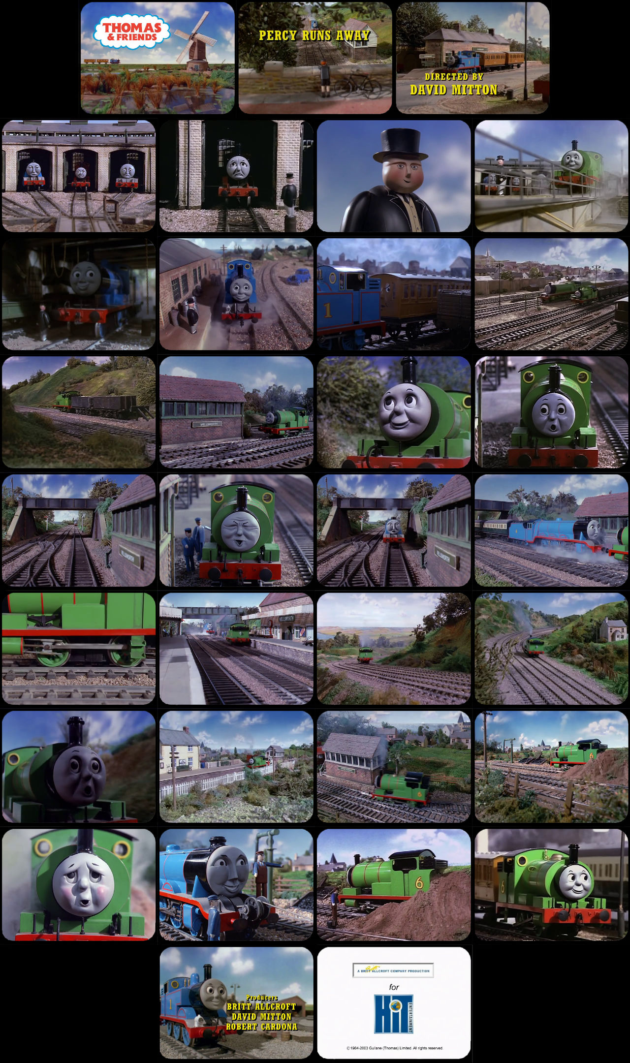 Thomas and Friends Episode 17 Tele-Snaps