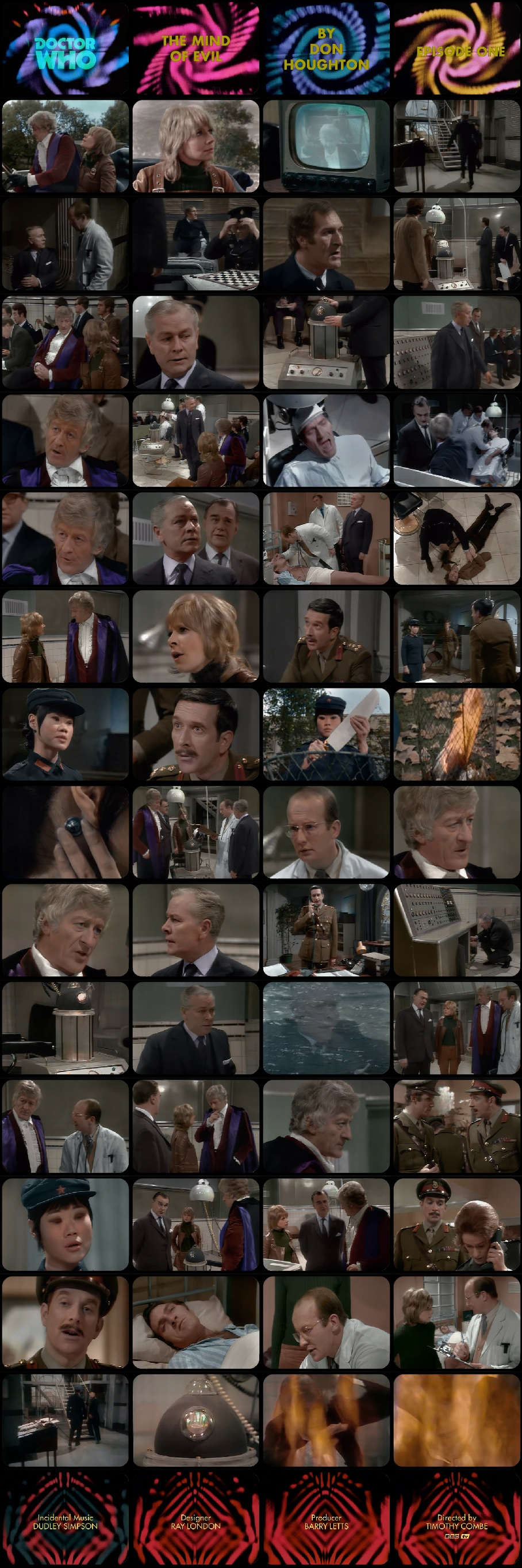 The Mind of Evil Episode 1 Tel-Snaps Format II